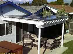 Solar Power And Light Solar Canopy And Pergola