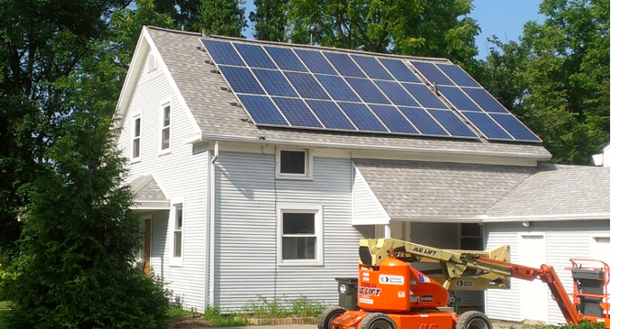 Solar for homes, condos and farm