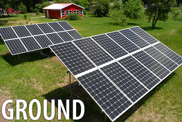 residential solar for homes ground mount