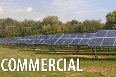 commercial utility pv solar installation