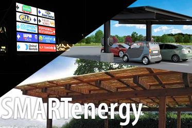 spl smartenergy solutions for solar signs signage, solar carports, solar canopy or pergola
